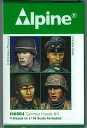 Alpine Miniature 1/16 German Soldier Optional Head #4(Back-order)