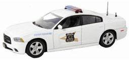"""ファーストレスポンス ダイキャスト製 1/43 2012 Dodge Charger Police """"Indiana State Police""""[ガリバー]《取り寄せ※暫定》(First Response Diecast 1/43 2012 Dodge Charger Police """"Indiana State Police""""(Back-order))"""