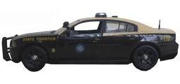 """ファーストレスポンス ダイキャスト製 1/43 2012 Dodge Charger Police """"Florida Highway Patrol""""[ガリバー]《取り寄せ※暫定》(First Response Diecast 1/43 2012 Dodge Charger Police """"Florida Highway Patrol""""(Back-order))"""