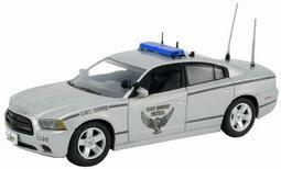 """ファーストレスポンス ダイキャスト製 1/43 2012 Dodge Charger Police """"Ohio Highway Patrol""""[ガリバー]《取り寄せ※暫定》(First Response Diecast 1/43 2012 Dodge Charger Police """"Ohio Highway Patrol""""(Back-order))"""