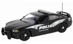 """ファーストレスポンス ダイキャスト製 1/43 2012 Dodge Charger Police """"Los Lunus New Mexico Police""""[ガリバー]《取り寄せ※暫定》(First Response Diecast 1/43 2012 Dodge Charger Police """"Los Lunus New Mexico Police""""(Back-order))"""