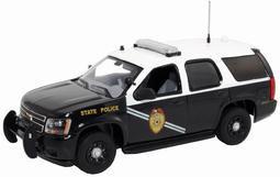 """ファーストレスポンス ダイキャスト製 1/43 2011 Chevy Tahoe Police """"New Mexico State Police""""[ガリバー]《取り寄せ※暫定》(First Response Diecast 1/43 2011 Chevy Tahoe Police """"New Mexico State Police""""(Back-order))"""
