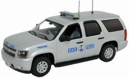 """ファーストレスポンス ダイキャスト製 1/43 2011 Chevy Tahoe Police """"Virginia State Police""""[ガリバー]《取り寄せ※暫定》(First Response Diecast 1/43 2011 Chevy Tahoe Police """"Virginia State Police""""(Back-order))"""