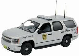 """ファーストレスポンス ダイキャスト製 1/43 2011 Chevy Tahoe Police """"Iowa State Patrol""""[ガリバー]《取り寄せ※暫定》(First Response Diecast 1/43 2011 Chevy Tahoe Police """"Iowa State Patrol""""(Back-order))"""