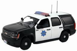 """ファーストレスポンス ダイキャスト製 1/43 2011 Chevy Tahoe Police """"SFPD""""[ガリバー]《取り寄せ※暫定》(First Response Diecast 1/43 2011 Chevy Tahoe Police """"SFPD""""(Back-order))"""