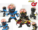 Tokusatsu Metalboy Heroes - The Four Hakaider Blue Hakaider & Gill Hakaider Unpainted Assembly Kit(Back-order)