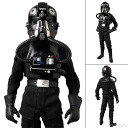 "Real Action Heroes No.631 Star Wars - TIE-FIGHTER PILOT (Black 3 ""Backstabber"")(Back-order)"
