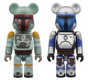 BE@RBRICK - Star Wars 2 Pack Jango Fett & Boba Fett(Back-order)