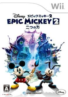 Wii ディズニー エピックミッキー2:二つの力[スパイク・チュンソフト]《取り寄せ※暫定》(Wii Disney Epic Mickey 2: Futatsu no Chikara(Back-order))