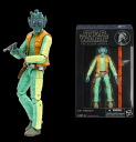 "Star Wars Hasbro Action Figure 6 Inch ""Black"" #07 Greedo(Released)"