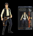 "Star Wars Hasbro Action Figure 6 Inch ""Black"" #08 Han Solo(Released)"