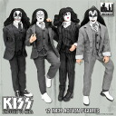 KISS Retro 12 Inch Figure Series 5 DRESSED TO KILL Set of 4 Types(Back-order)