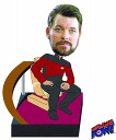 Star Trek the-next-generation / William-Riker Deluxe bobblehead car? s January proposed.""