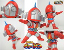 Tokusatsu Metalboy Heroes - Skyzel Unpainted Assembly Kit(Back-order)
