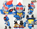 Tokusatsu Metalboy Heroes - Grounzel Unpainted Assembly Kit(Back-order)