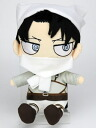Attack on Titan - Chimi Chara Plushie: Cleaning Levi(Released)