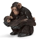 Chimpanzee (Female and Baby)(Released)