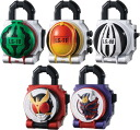 Kamen Rider Gaim - Sound Lock Seed Series SG Lock Seed Part.3 BOX (CANDY TOY)(Released)