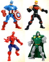 Marvel Comic Hasbro Action Figure Super Hero Mashers Wave 1 Assortment(Back-order)