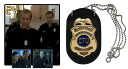 24 -TWENTY FOUR- Prop Replica Jack Bauer CTU Badge(Back-order)