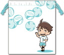 Haikyuu!! - Drawstring Bag Part.2 Aoba Seijo Oikawa(Released)