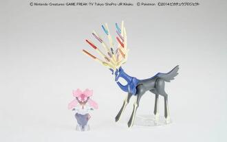 ポケモン・ザ・ムービーXY ポケモンプラモコレクション セレクトシリーズ ゼルネアス&ディアンシーセット プラモデル(Pokemon the Movie XY - Pokemon Plastic Model Collection Select Series: Xerneas & Diancie Set Plastic Model(Released))