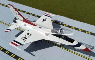 ジェミニエーセス 1/72 F-16D U.S.A.F. サンダーバーズ #4(Gemini Aces 1/72 F-16D U.S.A.F. Thunderbirds #4(Back-order))