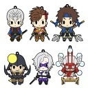 D4 Sengoku BASARA 4 Rubber Strap Collection Vol.2 6Pack BOX(Back-order)(D4 戦国BASARA4 ラバーストラップコレクション Vol.2 6個入りBOX)