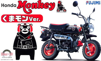 1/12 バイクシリーズ No.20 モンキー くまモンVer. プラモデル(1/12 BIKE Series No.20 Monkey Kumamon Ver. Plastic Model(Released))