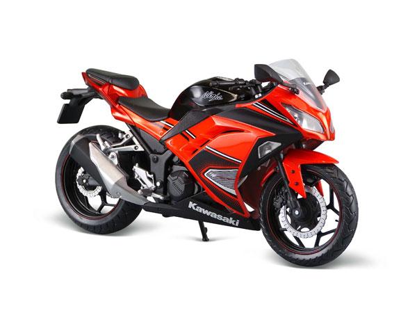Orange Ninja Motorcycl...