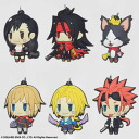 Final Fantasy - Trading Rubber Strap Vol.2 6Pack BOX(Released)