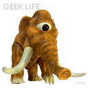 Sega Retro Game Sofubi Collection - Space Harrier Mammoth (w/Purchaser Bonus: Sega Official Not-for-sale Can Badge)(Released)