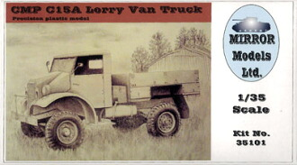 1/35 CMP シボレー C15A トラック プラモデル(1/35 CMP C15A Lorry Van Truck Plastic Model(Back-order))