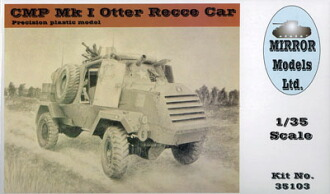 1/35 CMP Mk.1 オッター軽偵察車 プラモデル(1/35 CMP Mk.I Otter Recce Car Plastic Model(Back-order))