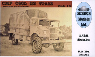 1/35 CMP シボレー C60L GS トラック プラモデル(1/35 CMP C60L GS Truck Plastic Model(Back-order))
