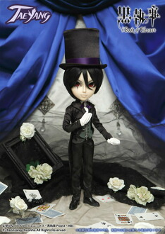 TAEYANG(テヤン)/Sebastian-BLACK ver.(セバスチャン-ブラックバージョン)(TAEYANG / Sebastian-BLACK ver.(Back-order))