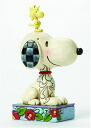 "Peanut Jim shore series/Snoopy & Woodstock statue [Enesco], ""August provisional reservations."""