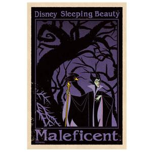 ディズニー トラベルステッカー ディズニーヴィランズ(1)(Disney Travel Sticker - Disney Villains (1)(Released))