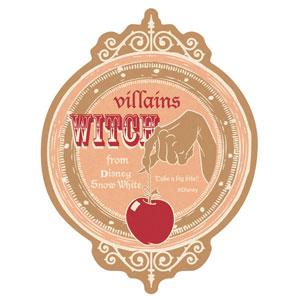 ディズニー トラベルステッカー ディズニーヴィランズ(6)(Disney Travel Sticker - Disney Villains (6)(Back-order))