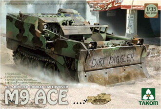 1/35 米軍 M9 ACE 装甲ブルドーザー プラモデル(1/35 US M9 ACE Armored Combat Earthmover Plastic Model(Back-order))