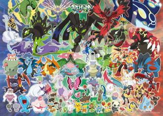 ジグソーパズル ポケットモンスターXY&Z 新たなるポケモンバトルの幕開け 300ラージピース(300-L515)(Jigsaw Puzzle - Pokemon XY & Z: Aratanaru Pokemon Battle no Makuake 300 Large Pieces (300-L515)(Released))