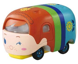トミカ ディズニーモータース ツムツム アナ ツム(Tomica Disney Motors - Tsum Tsum Anna Tsum(Released))