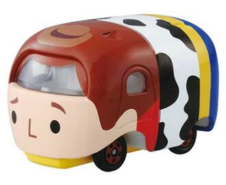 トミカ ディズニーモータース ツムツム ウッディ ツム(Tomica Disney Motors Tsum Tsum Woody Tsum(Released))