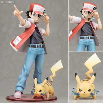 "ARTFX J 『ポケットモンスター』シリーズ レッド with ピカチュウ 1/8 完成品フィギュア(ARTFX J ""Pokemon"" Series - Red with Pikachu 1/8 Complete Figure(Released))"