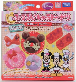 ぷるるんキャラドーナツ専用トレイ(ディズニー)(Pururun Chara Donut Tray (Disney)(Released))