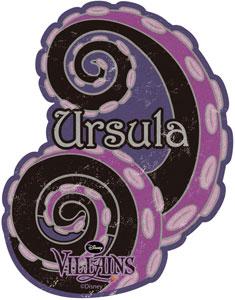 ディズニー トラベルステッカーディズニーヴィランズ(12)(Disney Travel Sticker - Disney Villains (12)(Released))