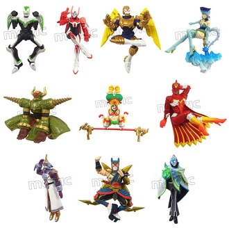 TIGER&BUNNY EDGE OF HERO (マスコット) 10個入りBOX(TIGER & BUNNY - EDGE OF HERO (Mascot) 10Pack BOX(Released))