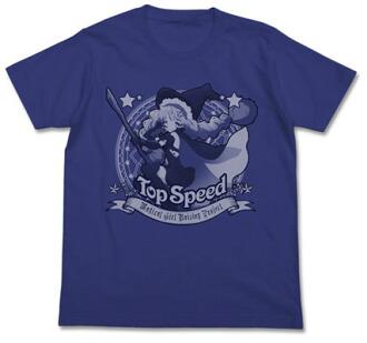 魔法少女育成計画 トップスピードTシャツ/ナイトブルー-XL(Magical Girl Raising Project - Top Speed T-shirt / NIGHT BLUE - XL(Pre-order))