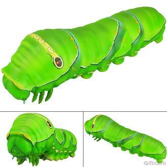 ソフビトイボックス 007 イモムシ ナミアゲハ 5令幼虫 ソフビフィギュア(Sofubi Toy Box 007. Caterpillar Asian Swallowtail 5th Instar Larvae Sofubi Figure(Pre-order))