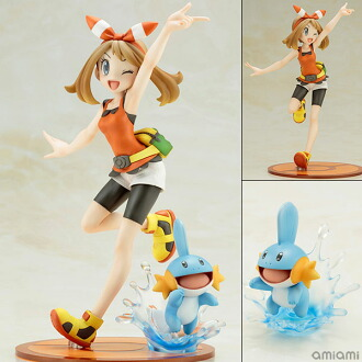 "ARTFX J 『ポケットモンスター』シリーズ ハルカ with ミズゴロウ 1/8 完成品フィギュア(ARTFX J - ""Pokemon"" Series: May with Mudkip 1/8 Complete Figure(Pre-order))"